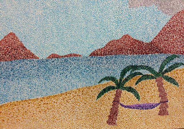 Pointillismus Otto Hahn Gymnasium G 246 Ttingen